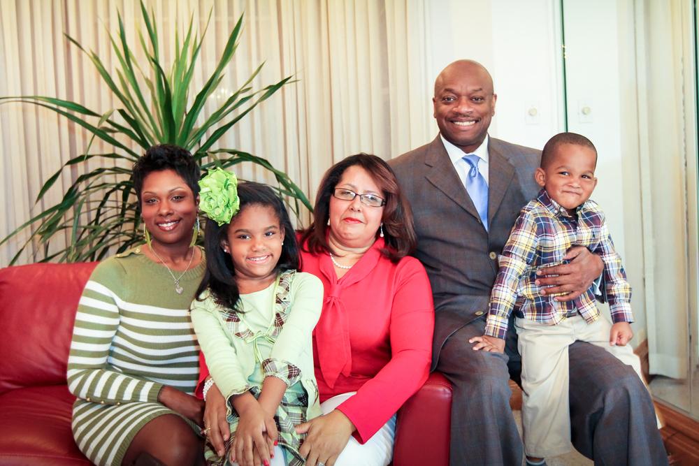 Alderman Cochran andfamily