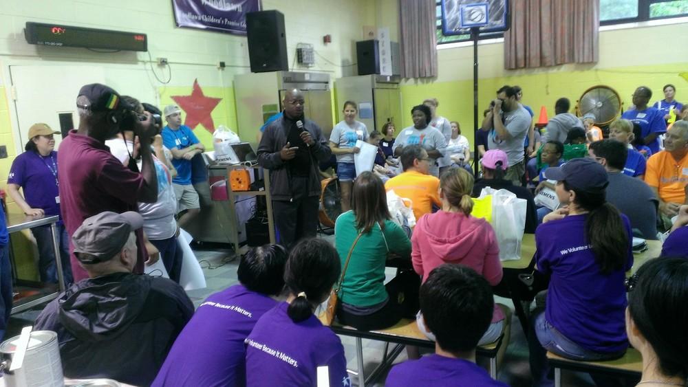 Woodlawn Community School Volunteer Effort