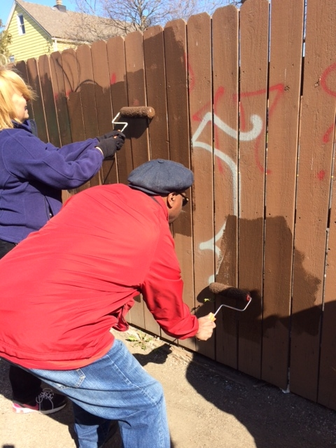 041114 BOTY Community Cleanup - Painting Over Graffiti.jpg