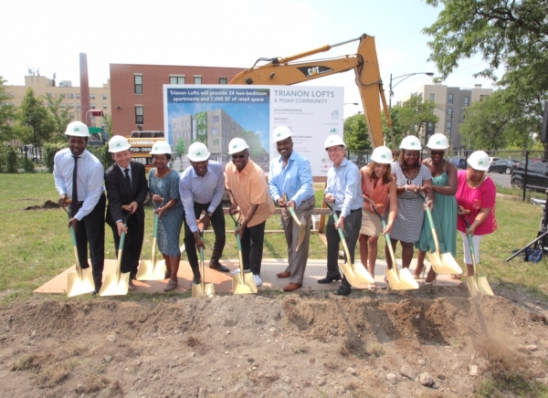 Trianon Loft Ground Breaking