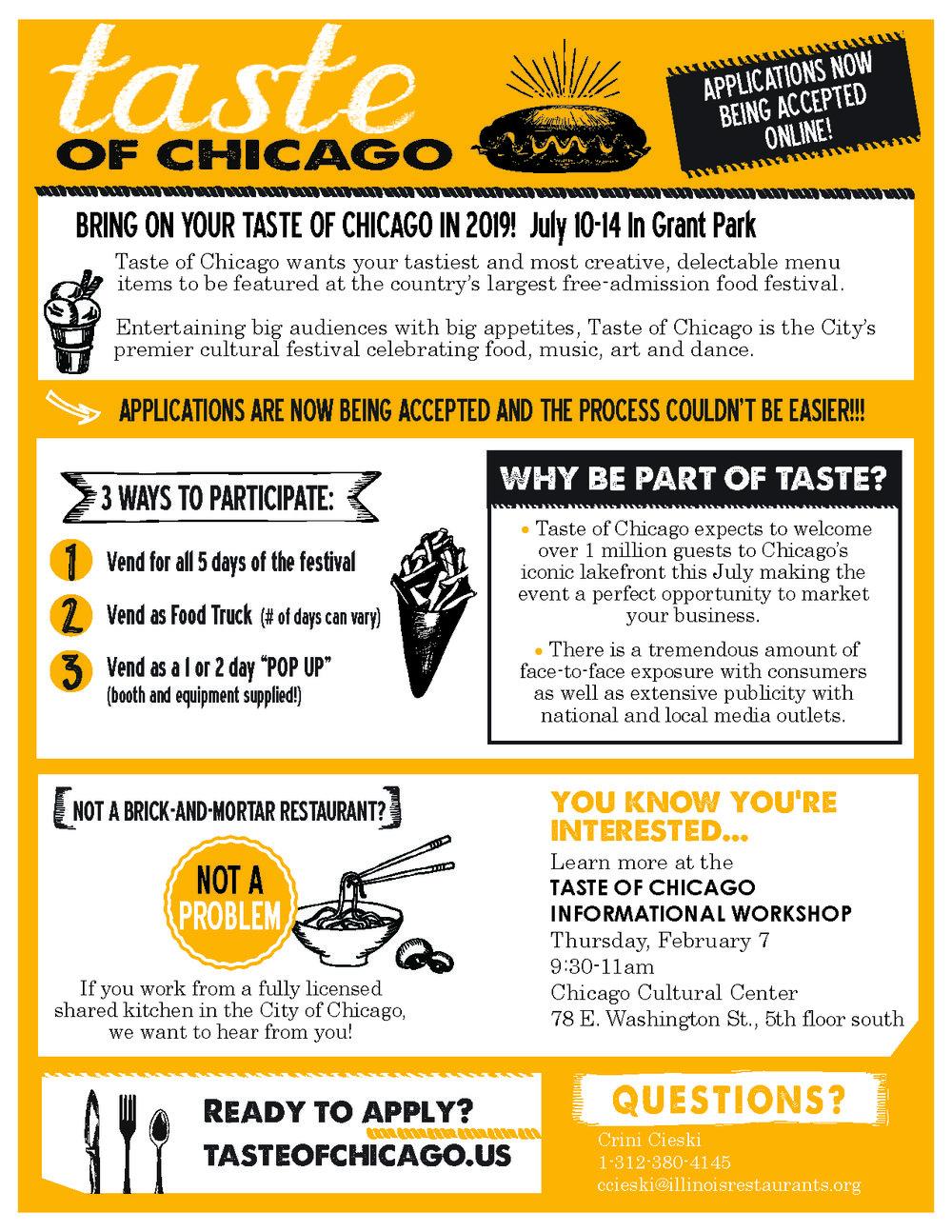 2019 Taste of Chicago - Be Part of Taste!.jpg