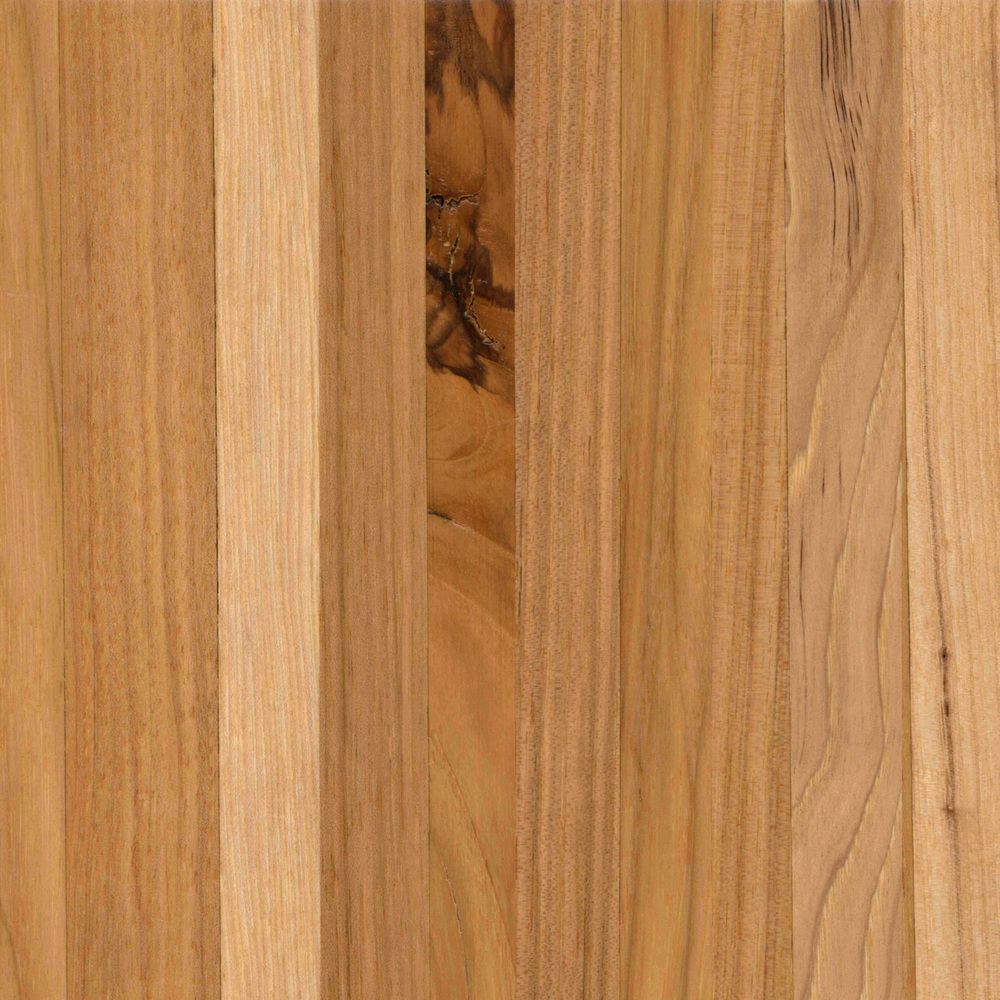 Pecan/Hickory // Butcher Block // Smooth // Natural