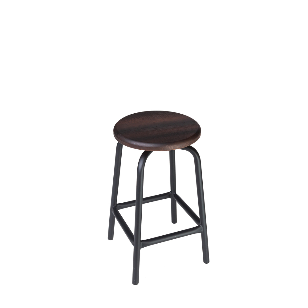 "SWIVEL PUB STOOL // 24"" HEIGHT"