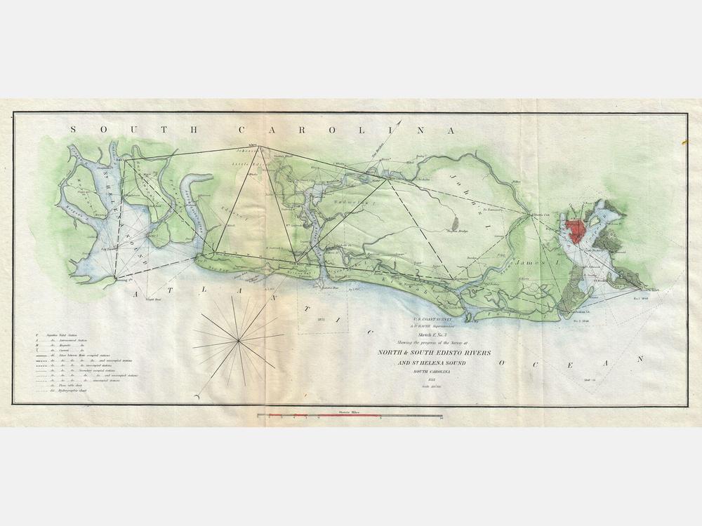 1852_U.S._Coast_Survey_Map_of_the_North_and_South_Edisto_Rivers,_South_Carolina_(Charleston)_-_Geographicus_-_EdistoRiver-uscs-1852.jpg