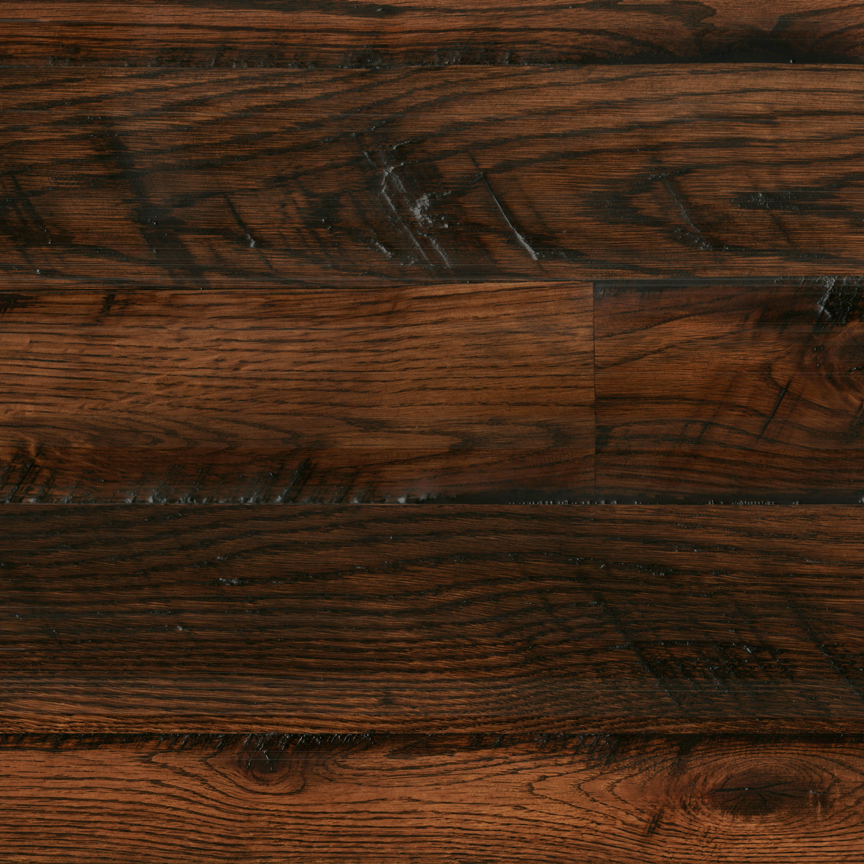 OAK // WIDE-PLANK / SMOOTH / DARK WALNUT STAIN   | CLICK TO SEE IT CLOSR