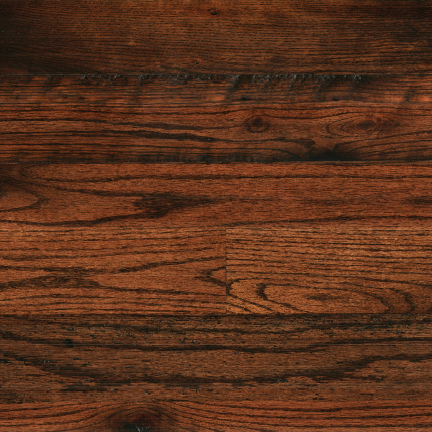 OAK // WIDE-PLANK / SMOOTH / MAHOGANY STAIN   | CLICK TO SEE IT CLOSR