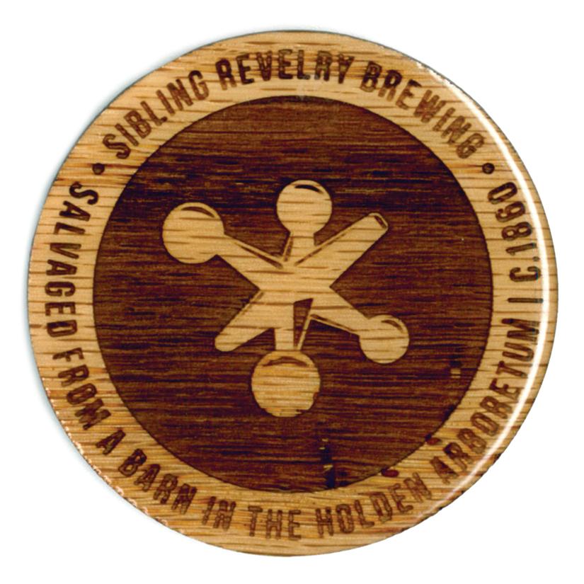 SIBLING REVELRY LOGO - 2.75ӯ OAK