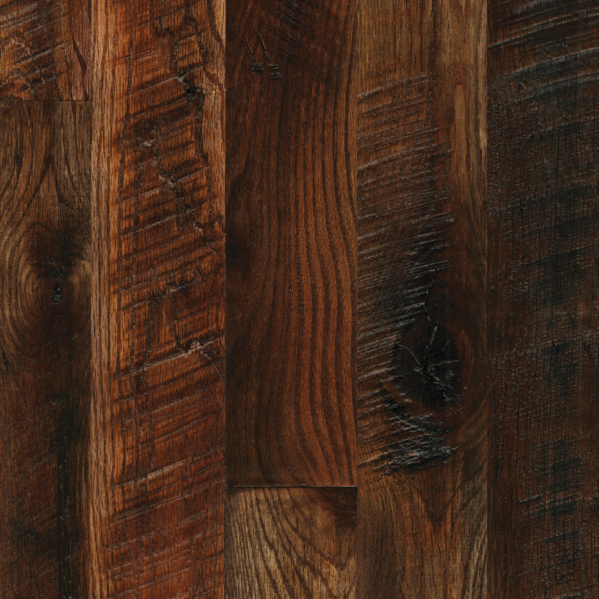 OAK // WIDE-PLANK / SEMI-ROUGH / OXIDE STAIN
