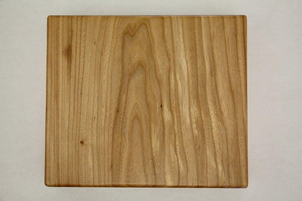 Elm / natural / smooth / polarion 2K acrylic / dull sheen