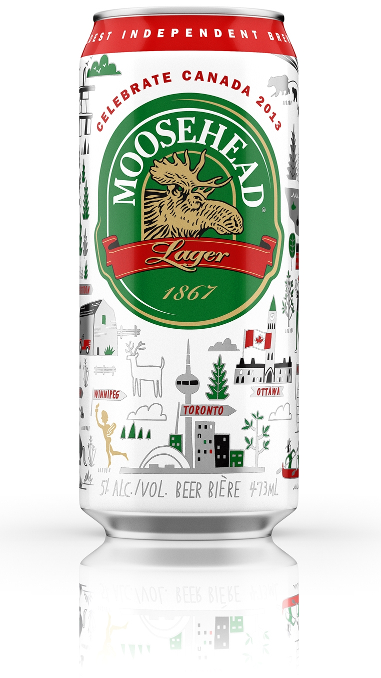 Moosehead Breweries - Map location: Canada