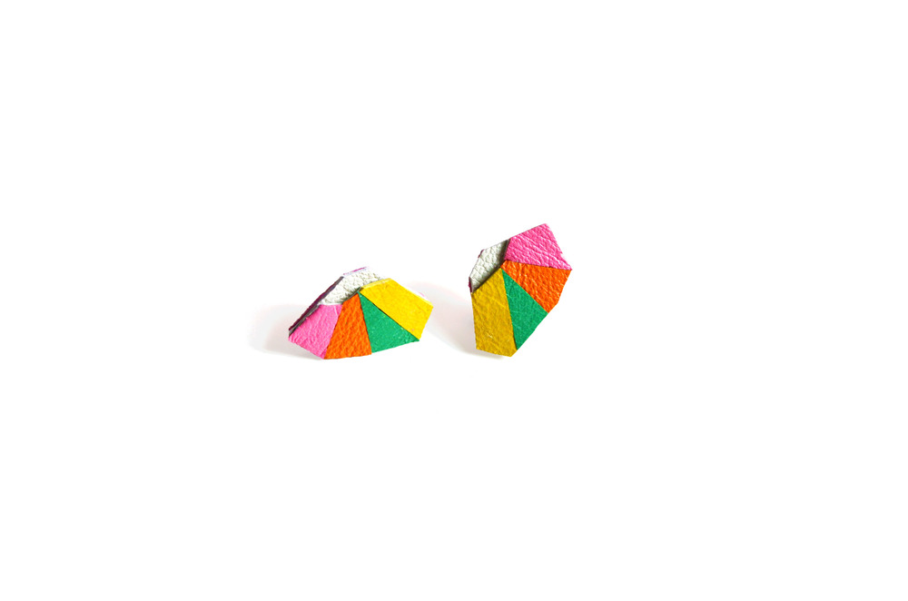 Geometric Leather Earrings Mini Triangles.jpg