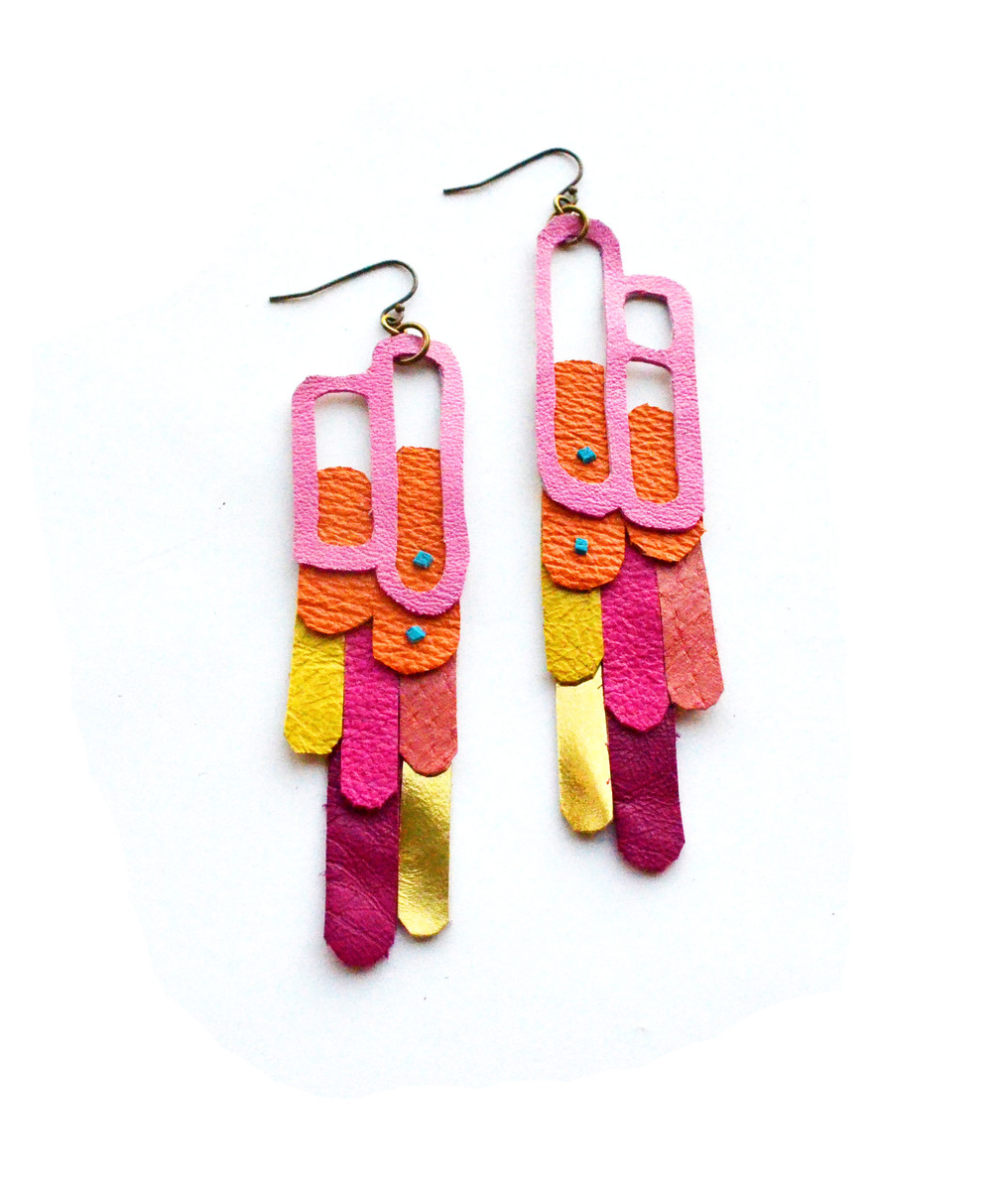 Geometric Earrings Leather Pop Art 4.jpg