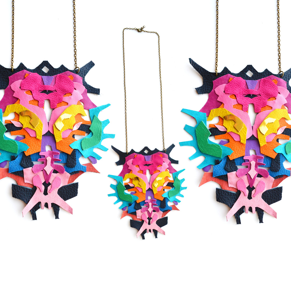 Neon Geometric Necklace Color Block Ink Blot 5.jpg