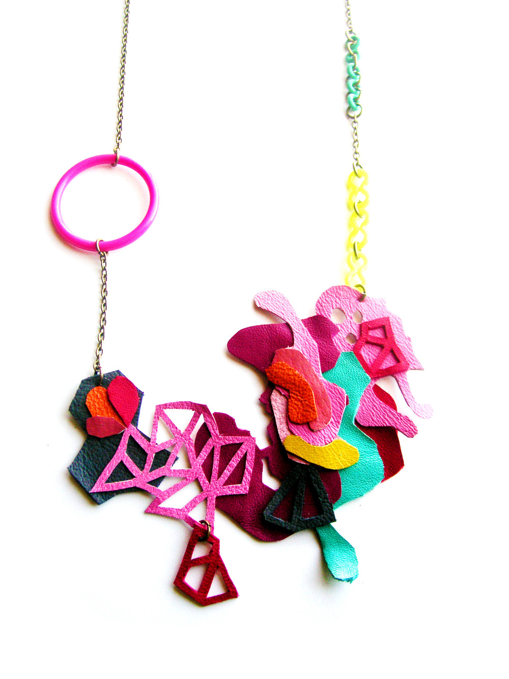 Geometric Necklace Triangle Color Block Art 2.jpg