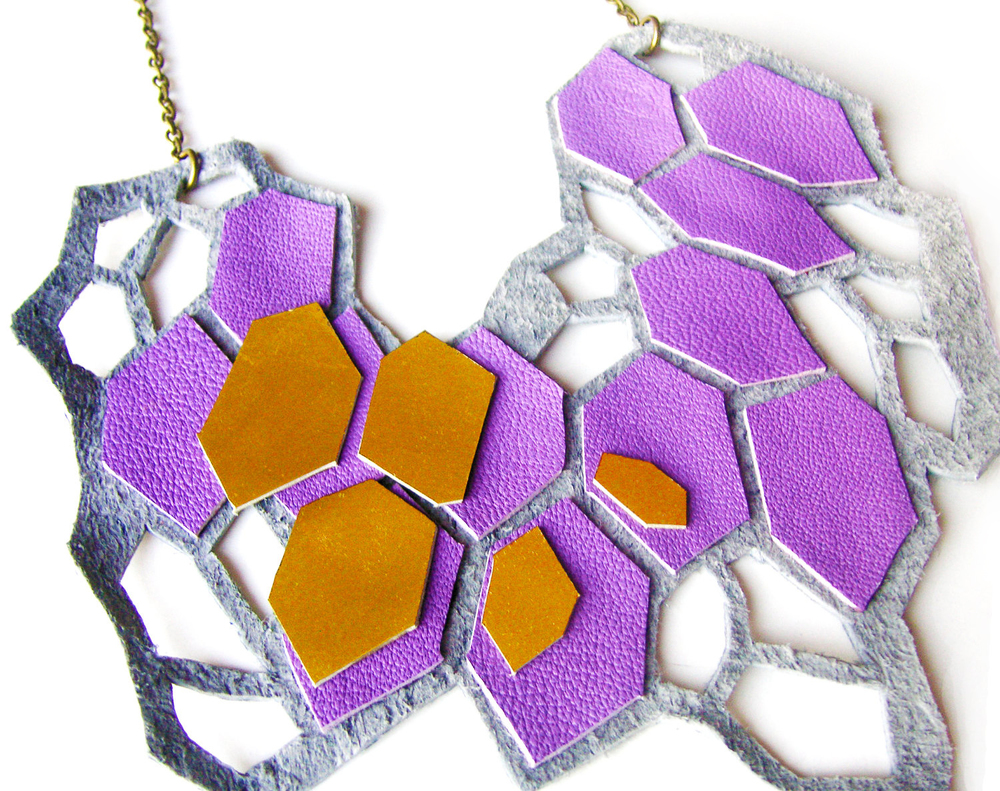 Geometric Necklace Purple Crystal Prism Forms 5.jpg