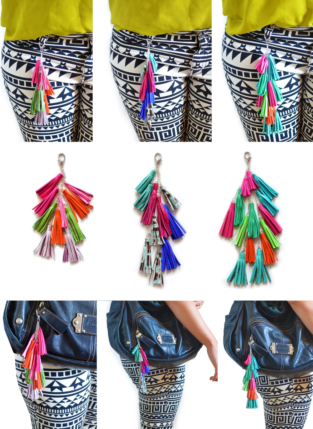 all leather tassel key chains small.jpg