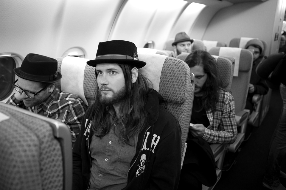On our way across The Pond - Photo by Rebecca Joelson