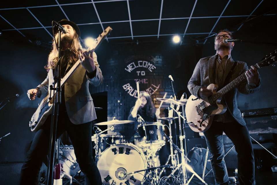 Rowdy night a Brudenell in Leeds - Photo by Rebecca Joelson