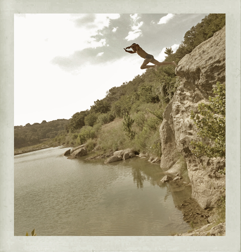 Daniel McNeill showed us his secret river spot for some much needed refreshment - Photo by Joshua Zimmerman