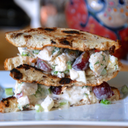 Spring 2015 Recipe Share! Chicken Salad + Grapes
