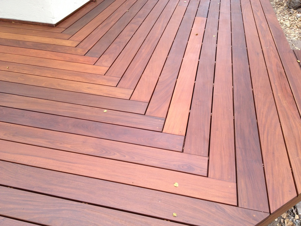 Ipe Deck detail
