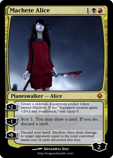 Machete Alice