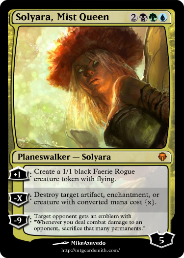 Solyara, Queen of the Mists