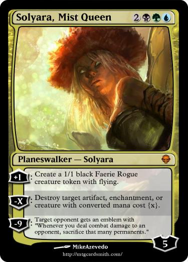 Solyara, Queen of the Mists
