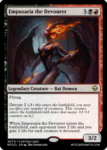 Empusaria the Devourer