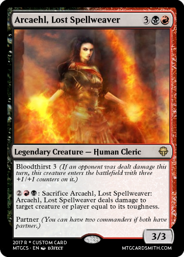 Arcaehl, Lost Spellweaver