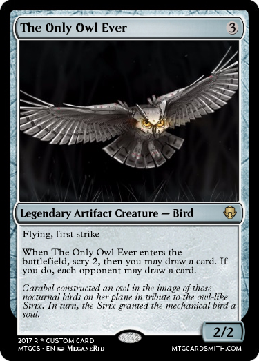 The Only Owl Ever