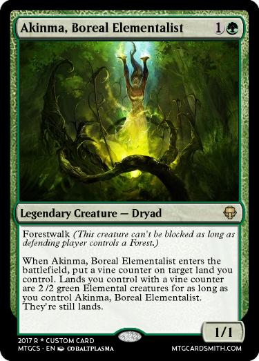 Akinma, Boreal Elementalist