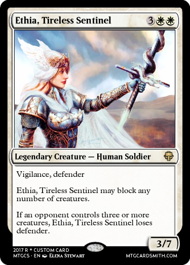Ethia, Tireless Sentinel