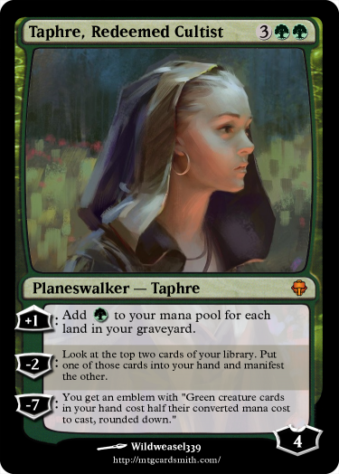 Taphre, Redeemed Cultist