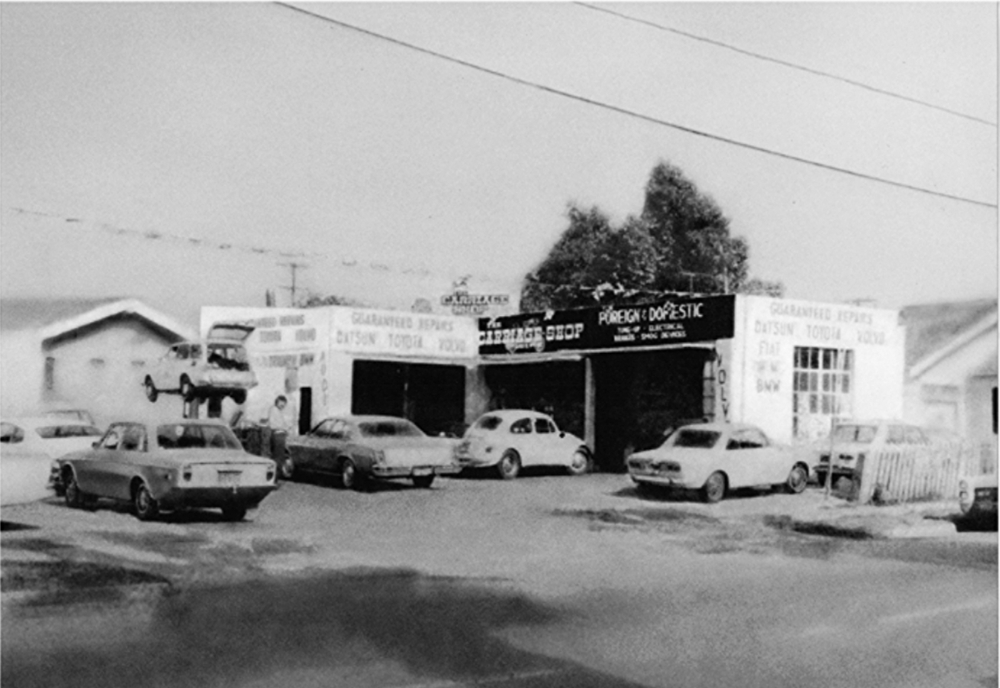 The Carriage Shop 1974