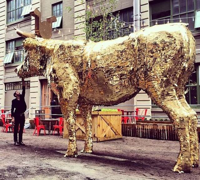 """The Giant Golden Piñata"""