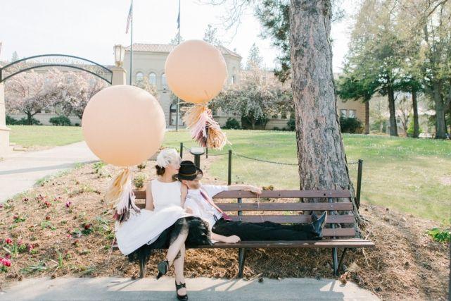 Blush Pink Balloons