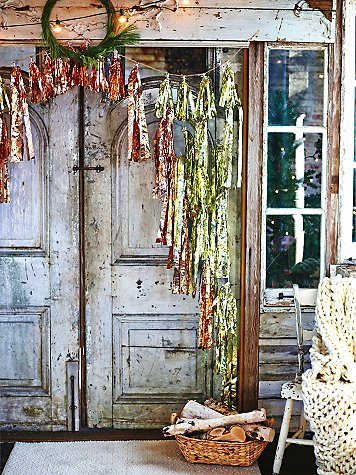 Tinsel Garland by Prospect Goods, made exclusively for Free People. Photo by Free People.
