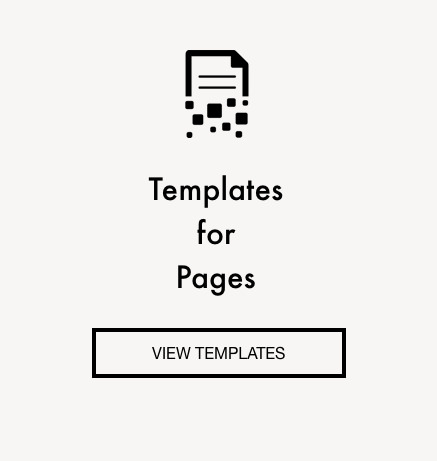 Templates for mac pages, pages templates, page layouts, pages designs