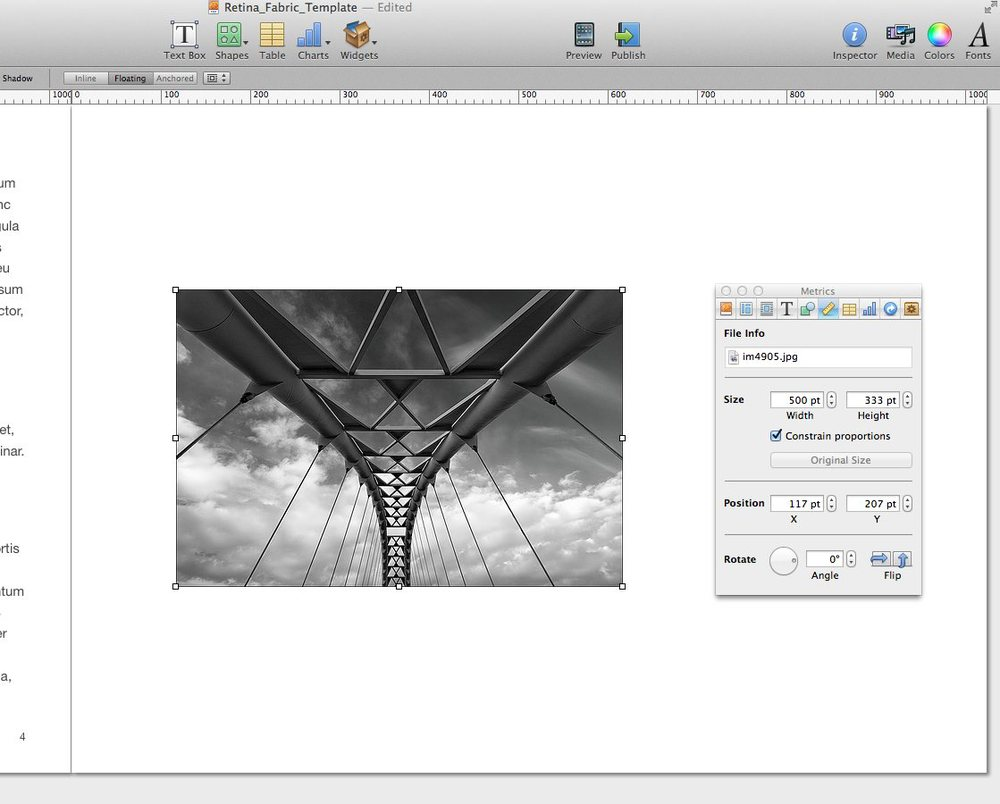 ibooks author image tutorial