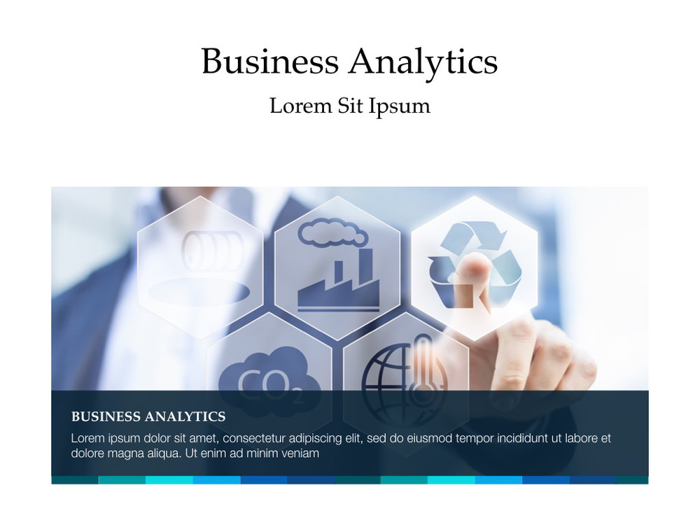 Business analytics powerpoint author ready templates business analytics powerpoint toneelgroepblik Images