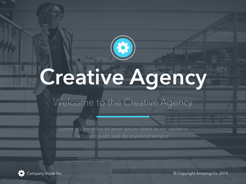 Creative agency powerpoint author ready templates creative agency powerpoint toneelgroepblik Choice Image