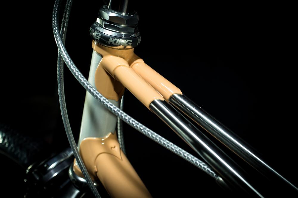 Custom Mixte Arm Inserts Detail