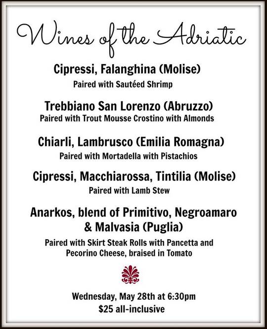 Wines of the Adriatic