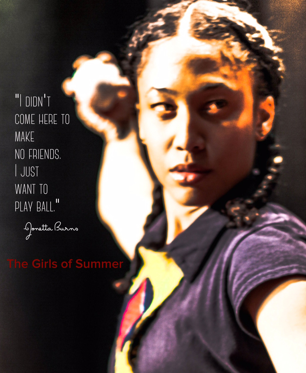 "Jonetta Burns Promo for the Off  Broadway Play        ""The Girls of Summer"" St. Luke's Theatre, NYC"