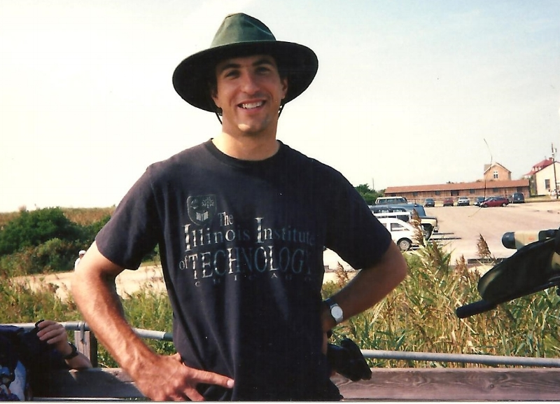 Birding in Illinois in the 1990's.