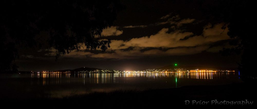 Albany City Night Scape