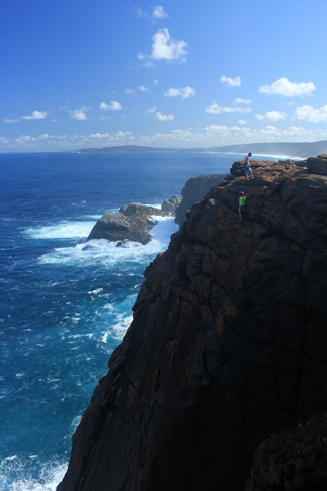 Rock climbing at West Cape Howe.jpg