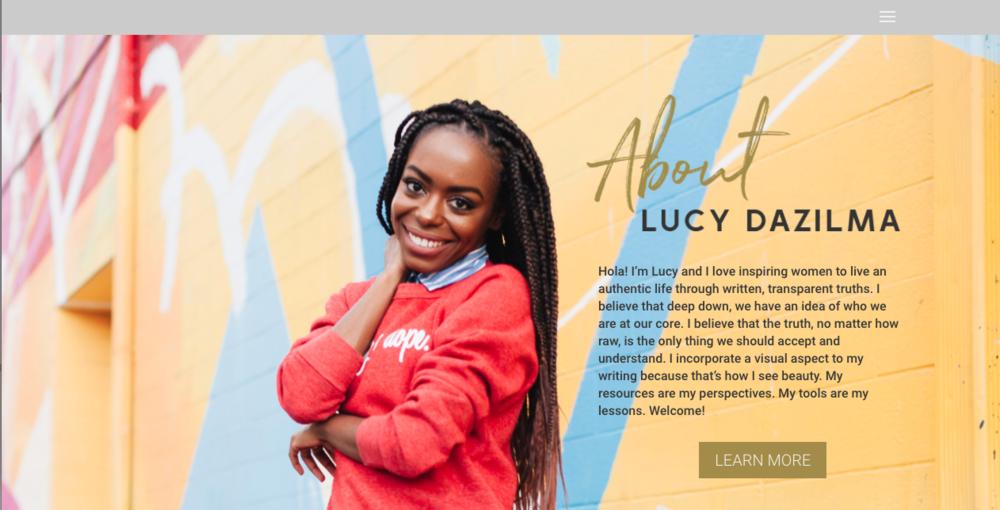 Lucy's Pearls Website