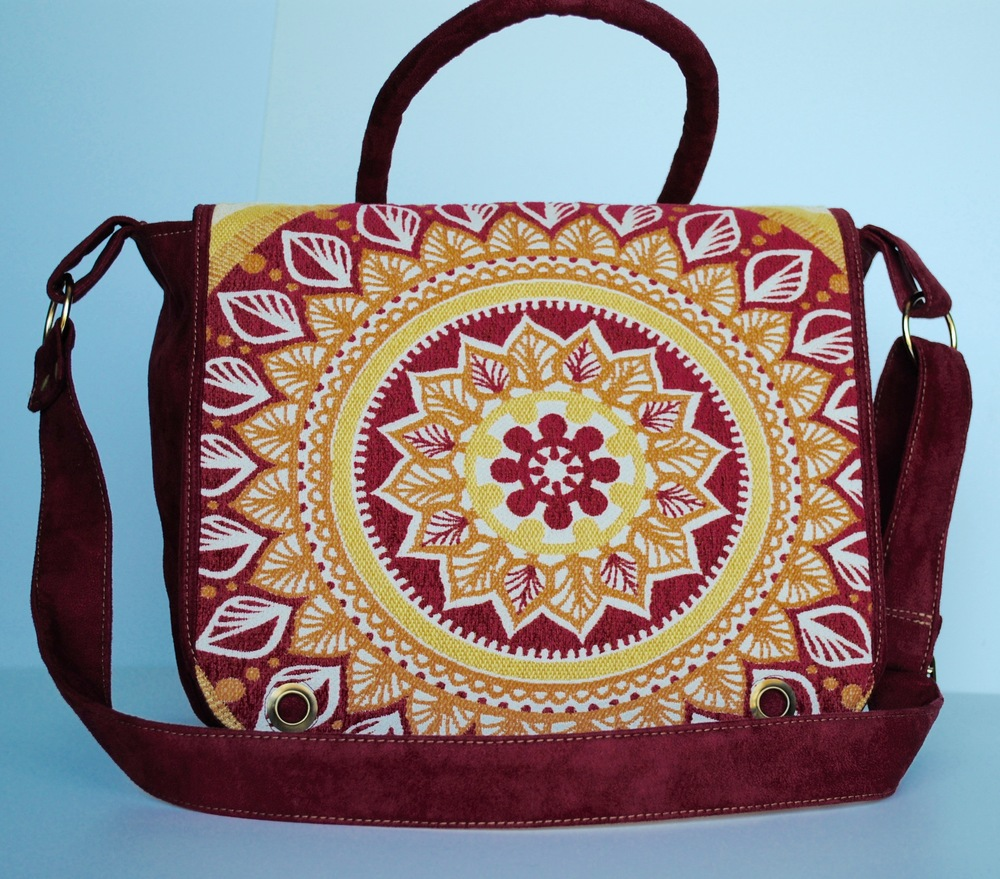 Rangoli Messenger Bag with two Handles